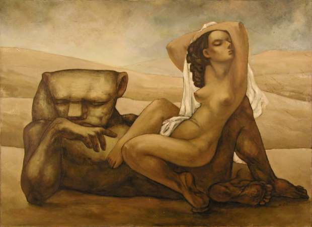 لوحة للفنان سلافا خودوركوفسكي (خودار)